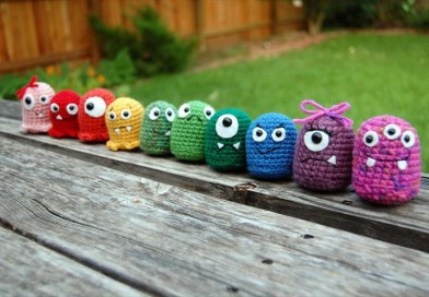 Amigurumi Crochet Baby Monsters