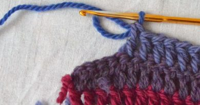 Correct Way to Change Yarn Color in Crochet