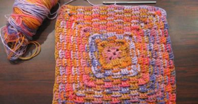 Crochet Basket Weave Granny Square Tutorial