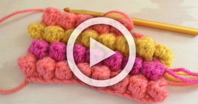 Crochet Bobble Stitch