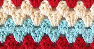 Stitch Repeat Granny Rows