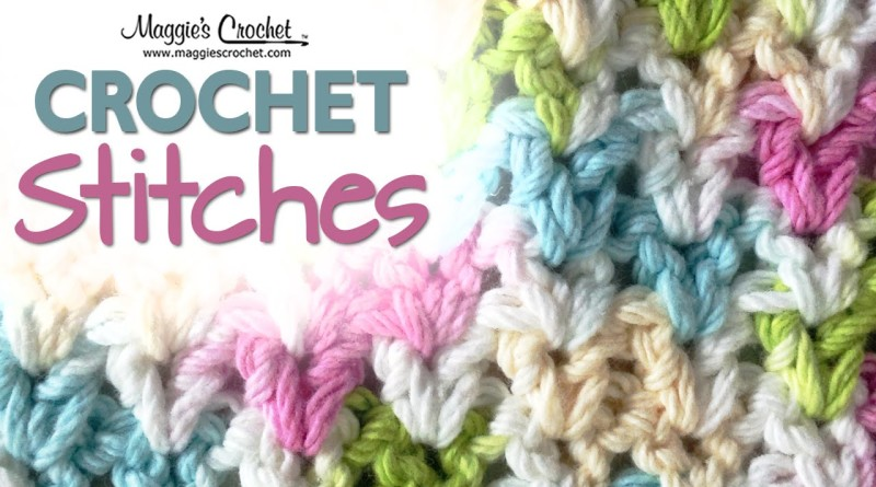 V Stitch Free Crochet Pattern The Crochet Club