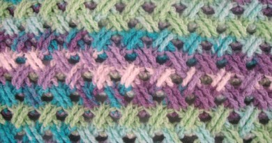 interweave cable stitch