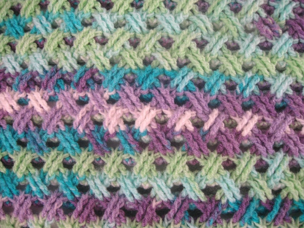 Crochet Cable Stitch Instructions : Interweave cable Celtic - The Crochet Club